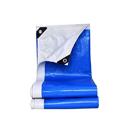 Casa puro Planengarten wasserdicht Blaue Poly Plane Sonnenschirme wasserdicht Depot Allzweck große Abdeckung für Pool Zelt Cargo Hiker Camping Plane Auto Plane (Size : 4m*6m) - Spielzeug Zug-depot