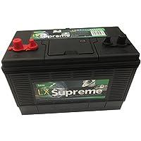 Lucas LX31 Versorgungsbatterie für Boote und Wohnmobile, 12 V, 105 Ah, 800 A