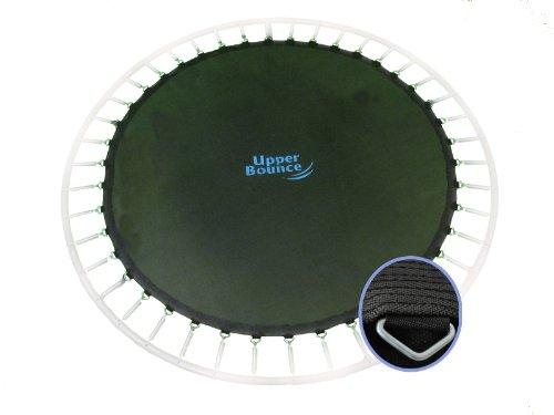 Upper Bounce Trampolin Ersatz-sprungtuch Ersatz-Sprungtuch für Runde Rahmen, Schwarz, 10 ft - 305 cm, UBMAT-10-64-7 (Wasser-sport-trampoline)