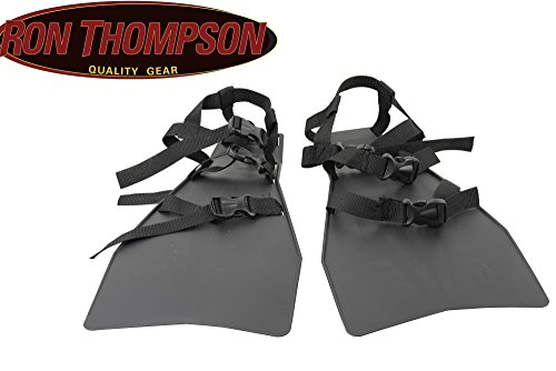 Ron Thompson Belly Boat Fins - Flossen für Bellyboot, Taucherflossen, Bellybootflossen, Flossen zum Belly Boot Angeln