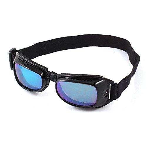 Preisvergleich Produktbild sourcingmap® Gespiegelte Linse die volle Rim faltbare Motorrad Schutz Brille Goggles de