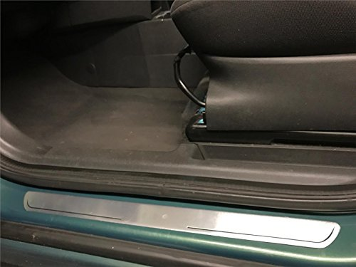 New-Car-Front-Rear-Door-Sill-Guard-Protector-Scratch-Scuff-Prevention-Silver