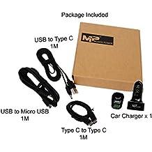 Caricatore da auto Mugen Power Quick Charge 2.0 3 porte di Smart USB / Tipo (Honda Acura Ipod)