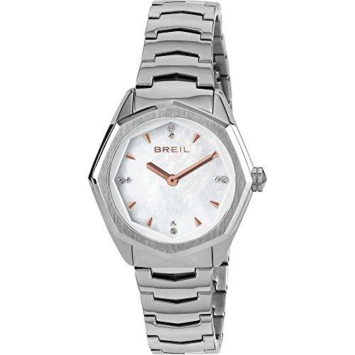 1bcd237e9638 BREIL Reloj Eight Mujer Sólo el tiempo Blanco - TW1702
