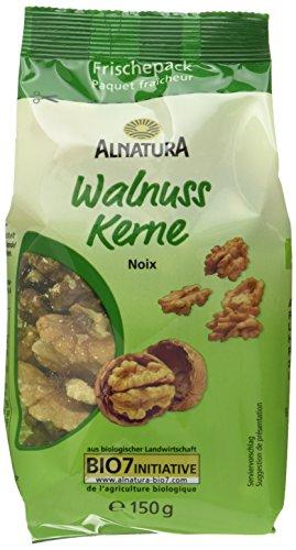 Alnatura Bio Walnusskerne, 6er Pack (6 x 150 g)