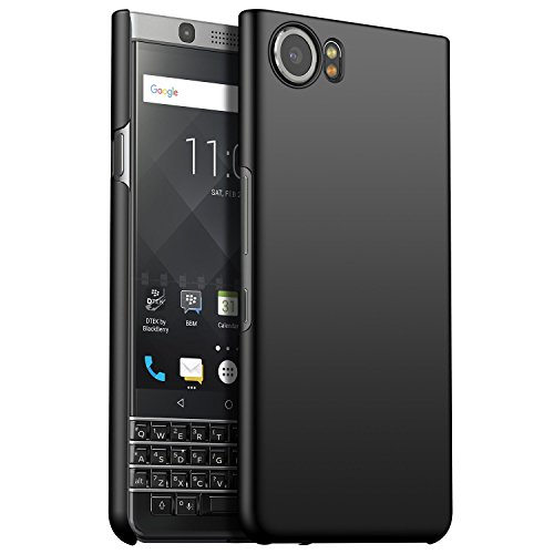 CiCiCat BlackBerry Keyone Hülle Handyhüllen, Hard PC Back Cover Case Schutz Hülle Tasche Schutzhülle Für BlackBerry Keyone. (BlackBerry Keyone 4.5'', Schwarz) 5 Blackberry Case