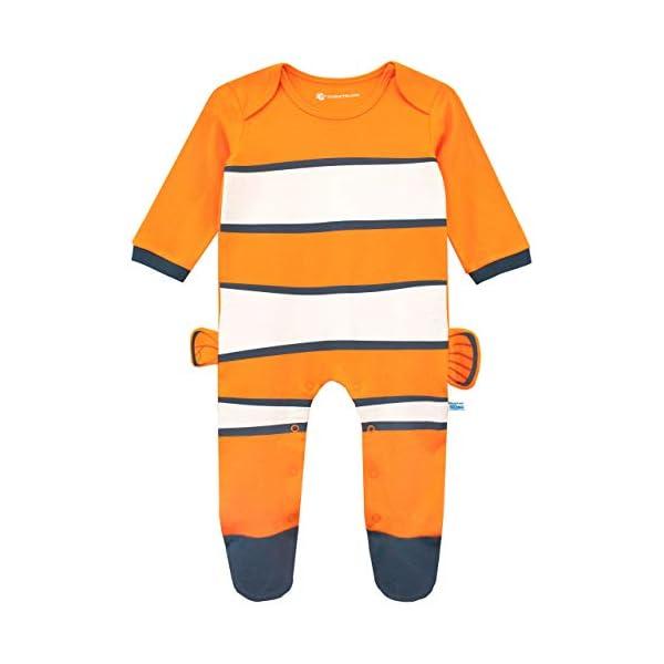 Disney Pijama Entera con Gorro para Niños Bebés Buscando a Nemo 2