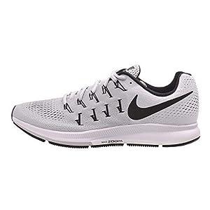 los angeles 4aafe 486d6 Nike Air Zoom Pegasus 33 TB, Zapatillas de Running para Hombre, Plateado ( Pure
