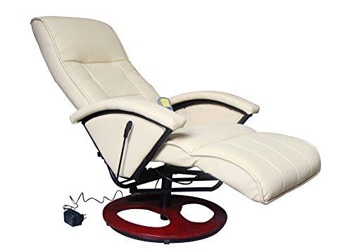 Massagesessel Fernsehsessel Relaxsessel Massage+Heizung TV Sessel CREME