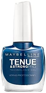 Gemey-Maybelline - Tenue & Strong pro - Vernis à ongles Bleu - 630 dark denim