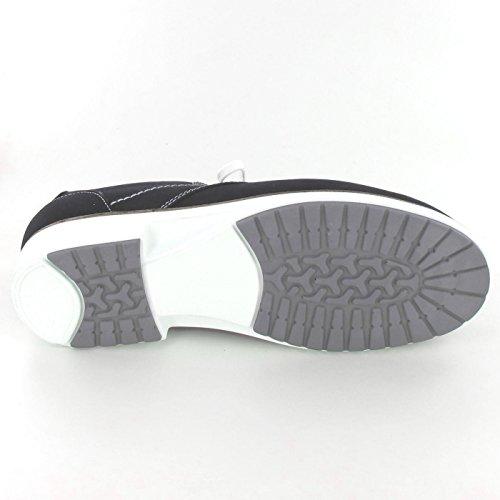 Finn Comfort  02233427050, Chaussures de ville à lacets pour femme Bleu