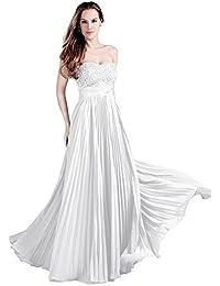 Weisses kleid lang 48