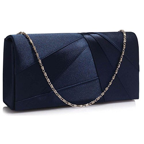Xardi London, Poschette giorno donna Navy Plain