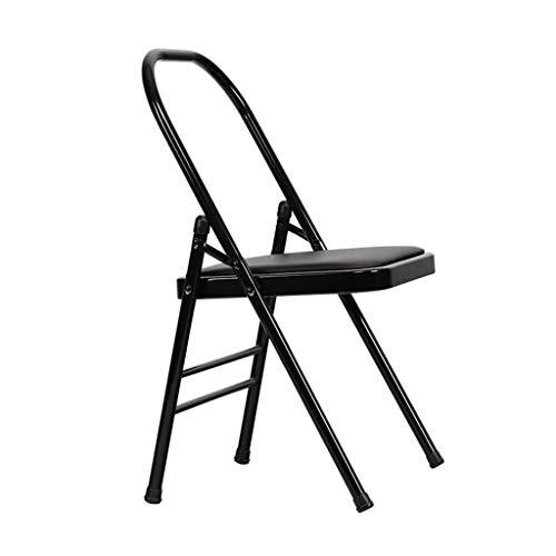 Sedia di yoga Sport Yoga Chair Iyengar Yoga Chair Yoga Ausiliario Chair Parete Addensata, Solida E Durevole Sedia Fitness Sedia Pieghevole Regalo delle Signore Fitness