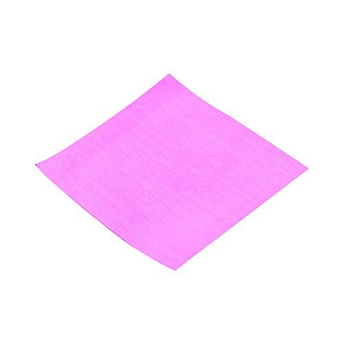 Stück Schokolade Geschenkpapier 8cm quadratisch Folie Papier Wrappers für Candy Verpackung Dekoration Fuchsia ()