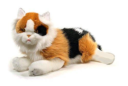 Gato tricolor de peluche (45 cm)