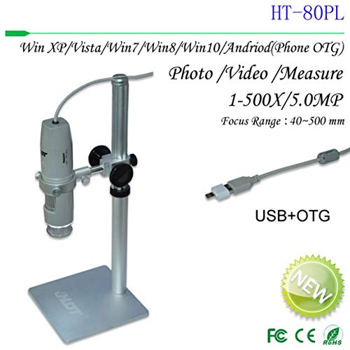 Fokus Mikroskop Digital-Mikroskop USB 500-Millionen-HD Polarisierende Fernfeld Mit Lengthening Aluminiumlegierung Stand