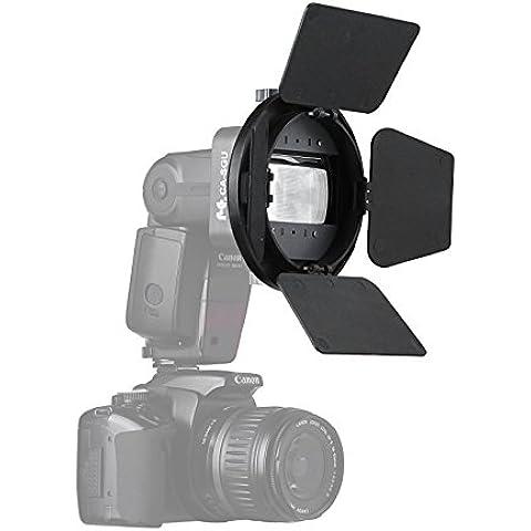 Selens Kit accessori K9Flash diffusore softbox barndoor, Snoot, Honeycomb, bellezza