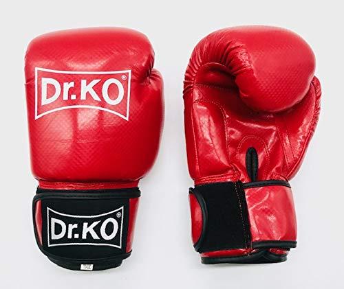 Dr. K.O. Modelo Classic: Guantes Boxeo Piel sintética