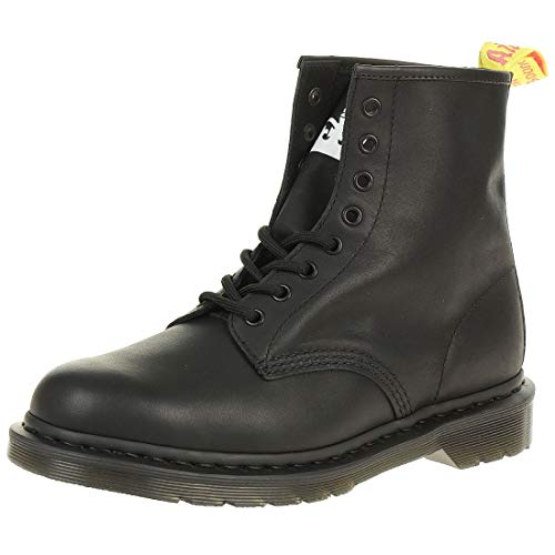 Black Greasy Leather Boot (Dr. Martens 1460 Sxp Boots 41 EU Black Milled Greasy & Backhand)