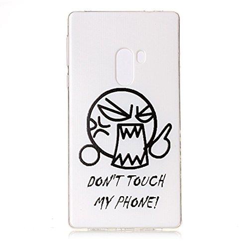 Xiaomi Mi Mix Hülle Case,Cozy Hut® Xiaomi Mi Mix Schutzhülle Xiaomi Mi Mix Hülle Case Cover Ultra-Transparente felxible TPU Silikon Handyhülle Hülle mit Anti-Rutsch Kratzfest Crystal Hülle-Xiaomi Mi Mix Hülle - Geist