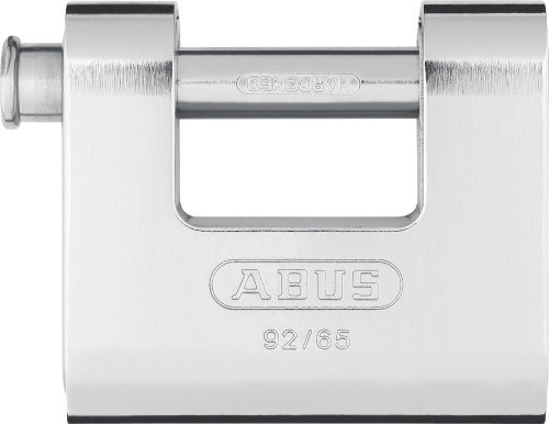 ABUS 30610 Monoblock Brass Shutter Padlock with Steel Jacket and 8511 Alike Keyed by ABUS KG