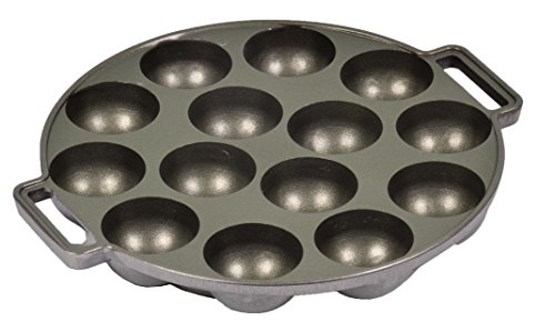 Easy Making ! TAKOYAKI Pan , 14 Molds , Size : L 9.33 x W 8.18 x H 1.18 Inch