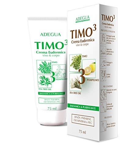 ADEGUA TIMO3 CREMA Pelli grasse e miste, purificante, lenitiva VISO&CORPO 75 ML