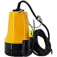 Bomba de sentina Haude, bomba de achique sumergible de 12 V microsumergible para riego agrícola, bomba portátil de eliminación de agua eléctrica