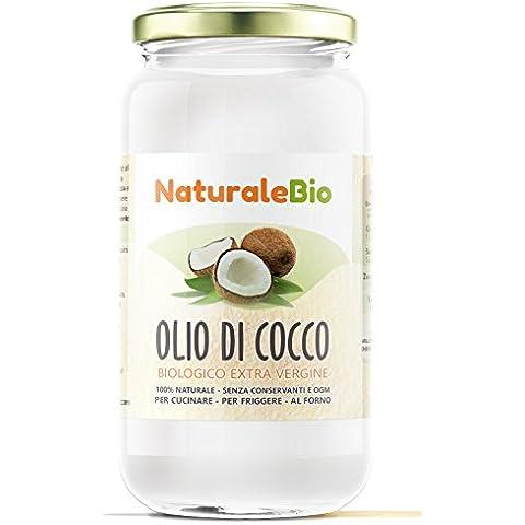 Olio di Cocco Biologico Extra Vergine 1000 ml | Crudo