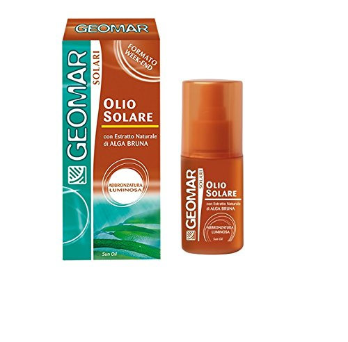 GEOMAR OLIO SOLARE SPRAY ABBRONZATURA LUMINOSA 75ml FORMATO WEEK END