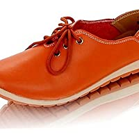 NJX/ Zapatos de mujer-Plataforma-Confort / Punta Redonda-Oxfords-Casual / Deporte-Semicuero-Rosa / Plata / Oro , pink-us9.5-10 / eu41 / uk7.5-8 / cn42 , pink-us9.5-10 / eu41 / uk7.5-8 / cn42
