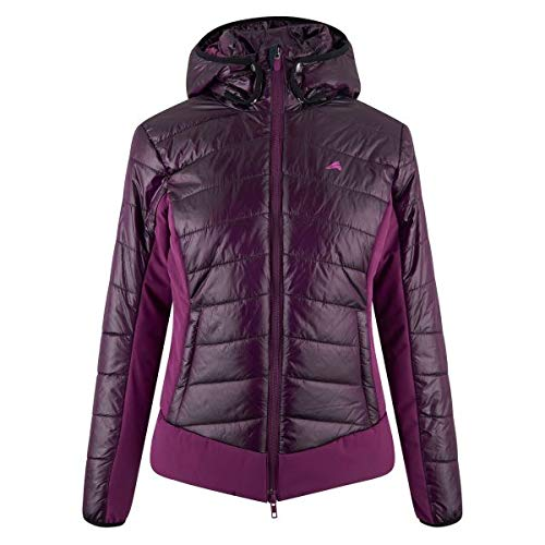 Damen Reitjacke Euro-Star Babs Winter Dark Purple Größe/Farbe M/Dark Purple