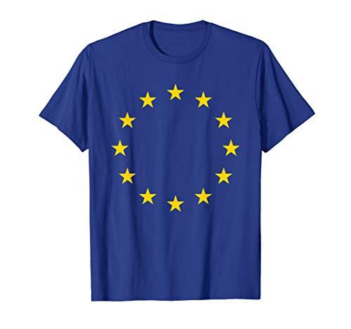 EU Flagge T Shirt Europäische Union Fahne T-shirt
