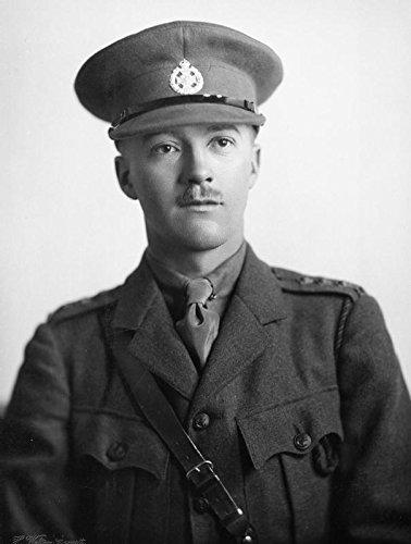 POSTER Captain N W H Gladstone Rifle Brigade Britain Commonwealth Imperial War Wall Art Print A3 replica
