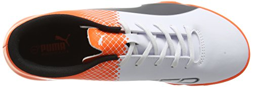 Puma Men s evoSpeed 5 5 TT Football Boots multicolour Multicolore  Puma White Puma Black Shocking Orange