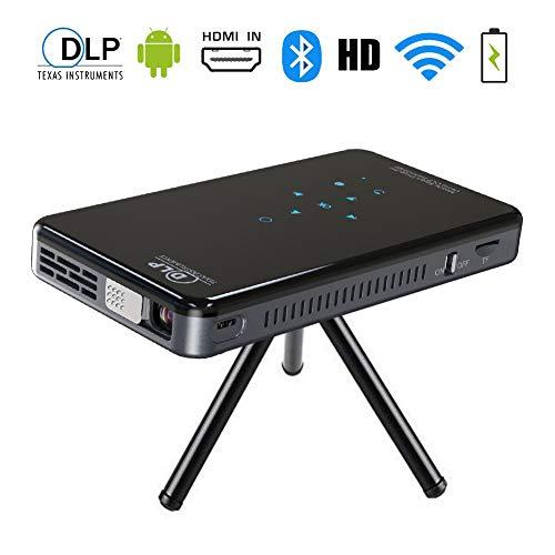 Mini Video Projektor,Tragbar Heimkino Beamer,SFZAV LED Projektors unterstützt 1080P Full HD,WiFi,Lautsprecher,HDMI USB TF VGA AV für Laptop,Smartphone Perfekt für Fußballspiele,Filme,(1G+8G) Digital Projector Ceiling Mount
