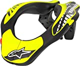 Alpinestars Youth Neck Support Nero Giallo Fluo Os