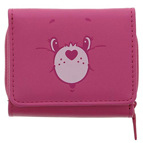 7a895fdc2611 Sun-Star Stationery Tri-fold Wallet (New Life Collection) Pink [Care Bears]  (Japan Import)