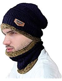 Conjunto de bufanda de gorro de invierno a9a38cb6eb02