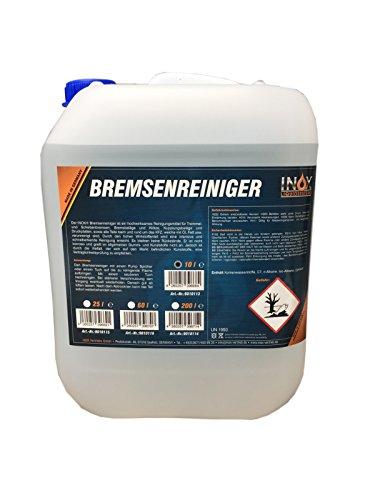Preisvergleich Produktbild INOX® Bremsenreiniger,  acetonfreier Bremsscheibenreiniger für KFZ - 10 Liter