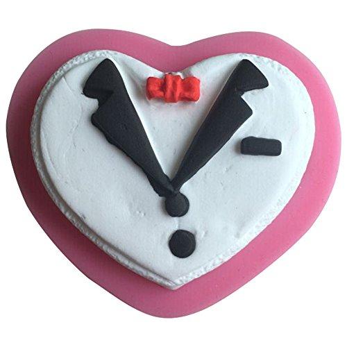 Karen Baking Nuovo arrivo famoso Handsome Suit Forma cravatta 3D torta della muffa della torta del silicone fondente decorazione
