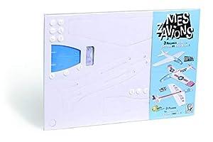 Aladine - Mitik Aerei para Construir y Colorear,, ALD-MK10