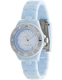 Marea Dau B40106/8 - Reloj de mujer de cuarzo, correa de caucho color azul claro