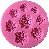 flower silicon mold cake decoration
