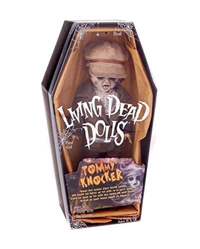 Lizenzierte Living Dead Dolls Tommy Knocker Figur 25 cm als Deko für Horrorfans