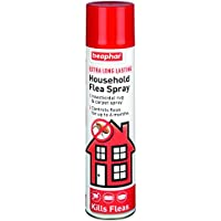 Beaphar Extra Long Lasting Household Flea Spray 300ml 17817