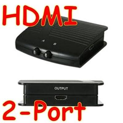 2-fach HDMI Audio Video Umschalter Switch Box, Elektronik