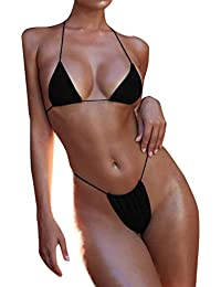 JiaMeng Conjunto de Bikini de Vendaje Conjunto de Push-up Traje de baño brasileño Ropa de Playa Traje de baño de Bikini Traje de Baño De Moda Verano Tops