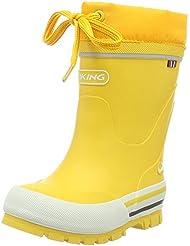 Viking Jolly Winter - botas y botines de caña larga y foor de invierno Unisex Niños